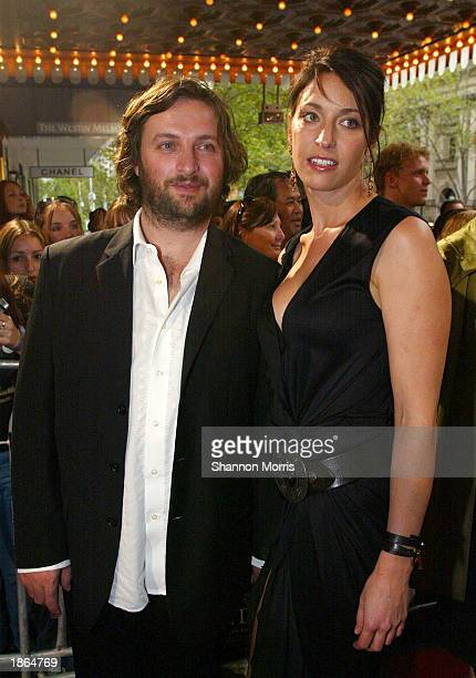 Director Gregor Jordan and unidentified friend attend the World Premiere of the film Ned Kelly March 22 2003 at the Regent Theatre in Melbourne...