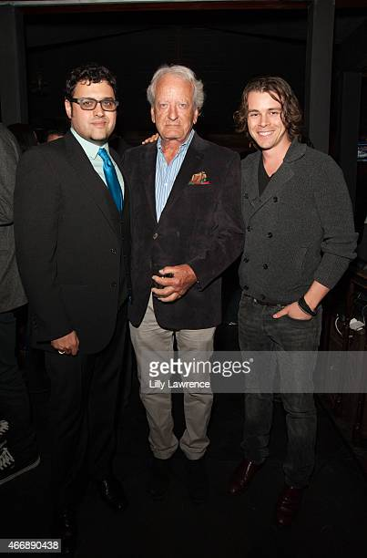 Director Gregori J. Martin, Actors Nicolas Coster and Riley Bodenstab attend LANY Entertainment's 4th Annual Industry Mixer And Cocktail Party at...