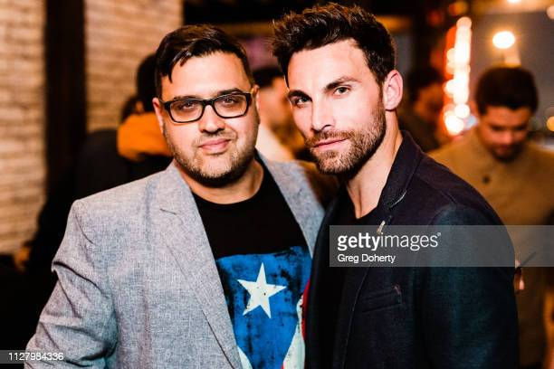 Director Gregori J Martin and Actor Erik Fellows attend the 8th Annual LANY Mixer at Pearl's on February 26 2019 in West Hollywood California