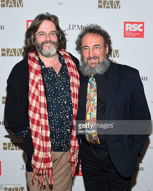"""Director Gregory Doran and actor Antony Sher attend the Benefit Celebration Honoring Royal Shakespeare Company's """"King & Country"""" at BAM Lepercq..."""