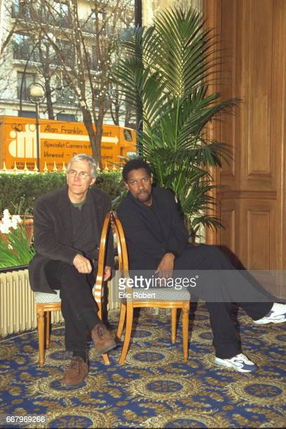 Director Gregory Hoblit and actor Denzel Washington
