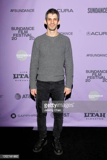 Director Gregory Kershaw attends the 2020 Sundance Film Festival The Truffle Hunters Premiere at Prospector Square Theatre on January 26 2020 in Park...