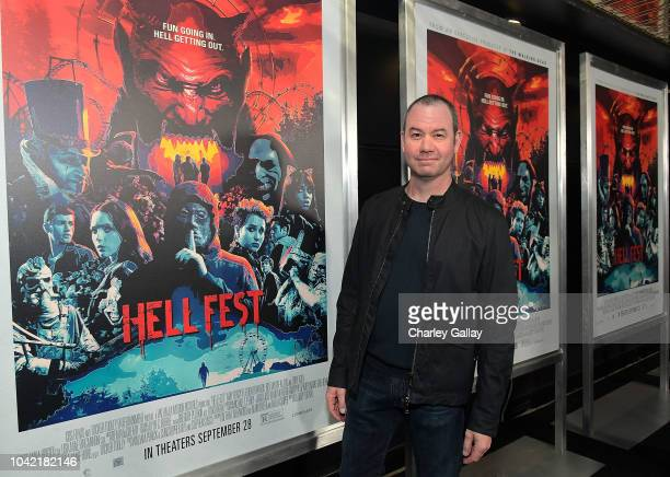 Director Gregory Plotkin attends the Opening Night Screening Of HELL FEST at the TCL Chinese 6 Theater on September 27 2018 in Hollywood California