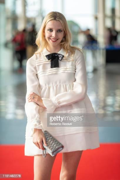 Director Greta Bellamacina attends a screening of 'Hurt By Paradise' during the 73rd Edinburgh International Film Festival at Vue Omni on June 22,...