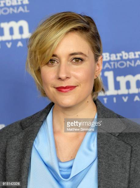 Director Greta Gerwig at the Outstanding Directors Award Sponsored by The Hollywood Reporter during The 33rd Santa Barbara International Film...
