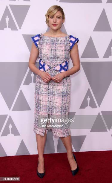 Director Greta Gerwig attends the 90th Annual Academy Awards Nominee Luncheon at The Beverly Hilton Hotel on February 5 2018 in Beverly Hills...