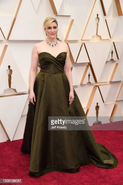 Director Greta Gerwig attends the 92nd Annual Academy Awards at Hollywood and Highland on February 09 2020 in Hollywood California