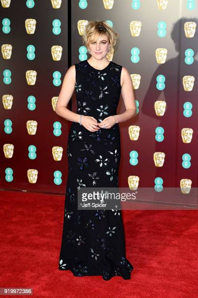 Director Greta Gerwig attends the EE British Academy Film Awards held at Royal Albert Hall on February 18 2018 in London England