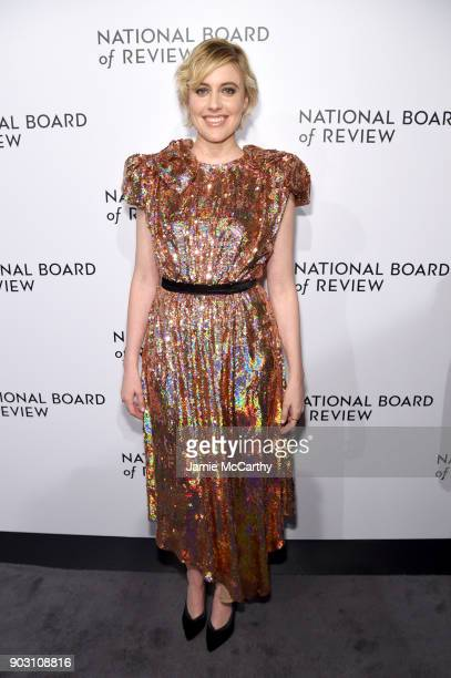 Director Greta Gerwig attends the National Board of Review Annual Awards Gala at Cipriani 42nd Street on January 9 2018 in New York City