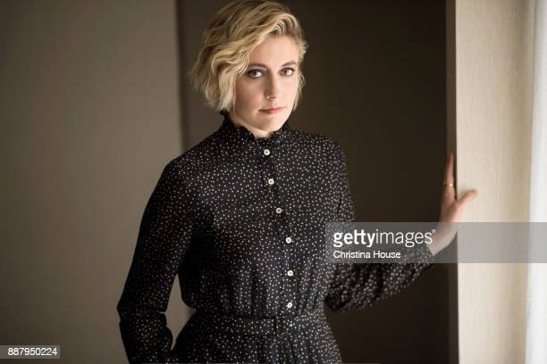 Director Greta Gerwig of 'Ladybird' is photographed for Los Angeles Times on November 17 2017 in Los Angeles California
