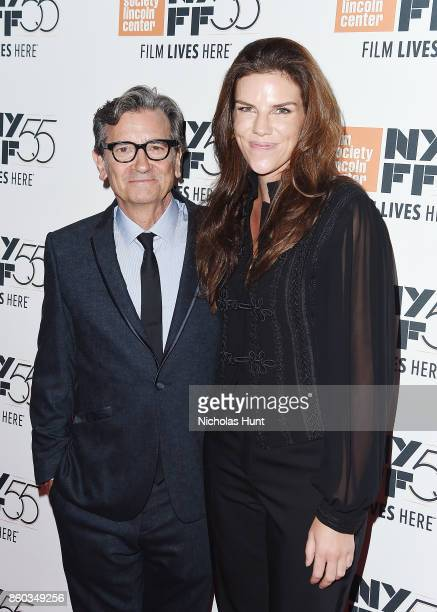Director Griffin Dunne and Producer Annabelle Dunne attend the 55th New York Film Festival presentation of 'Joan Didion The Center Will Not Hold' at...