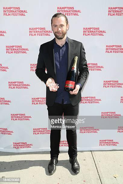 Director Gudmundur A. Gudmundsson attends the 21st Annual Hamptons International Film Festival Closing Day on October 14, 2013 in East Hampton, New...