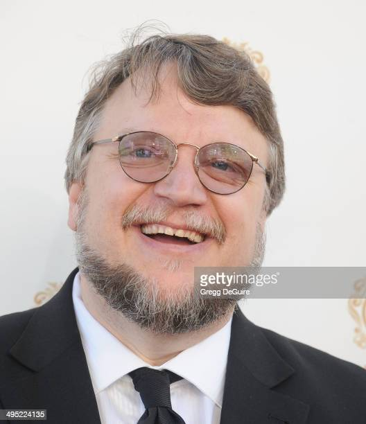 Director Guillermo del Toro arrives at the 2014 Huading Film Awards at The Montalban Theater on June 1 2014 in Hollywood California