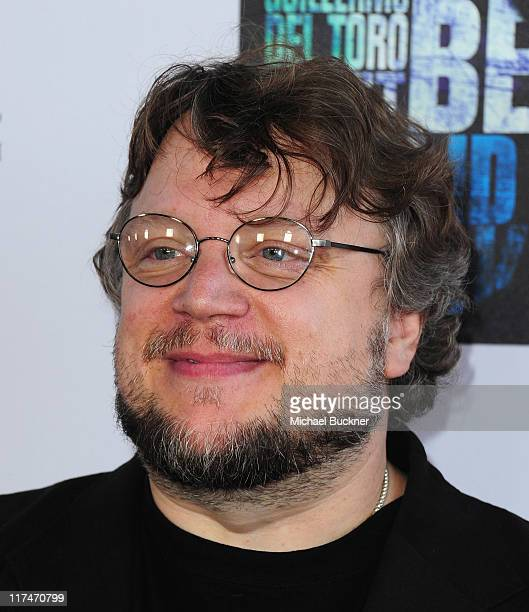 Director Guillermo del Toro arrives at the Los Angeles Film Festival's Closing Night premiere of Don't Be Afraid Of The Dark at Regal Cinemas LA Live...