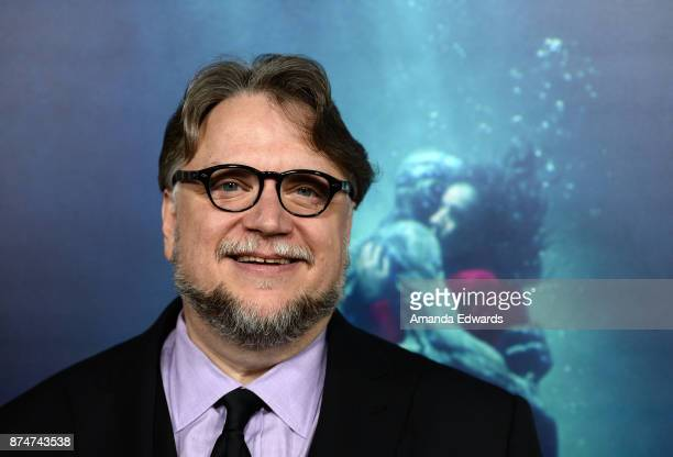Director Guillermo del Toro arrives at the premiere of Fox Searchlight Pictures' 'The Shape Of Water' at the Academy Of Motion Picture Arts And...