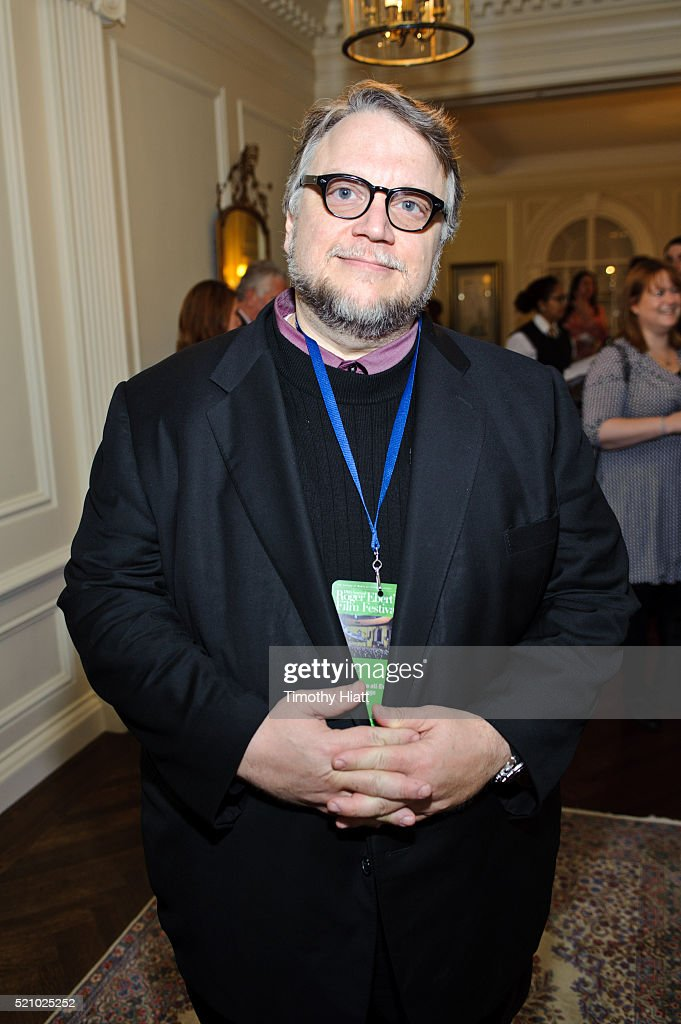 Director Guillermo Del Toro attend the opening reception of the 2016 Ebertfest on April 14, 2016 in Champaign, Illinois.
