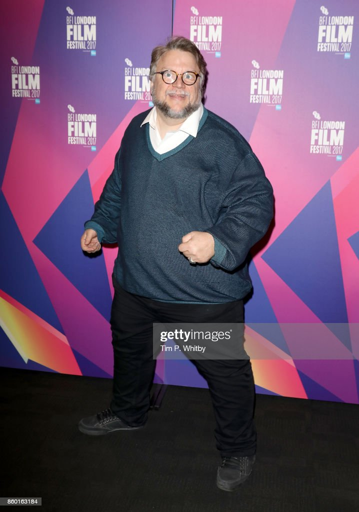 Director Guillermo Del Toro attends a photocall ahead of his Screen Talk during the 61st BFI London Film Festival on October 11, 2017 in London, England.