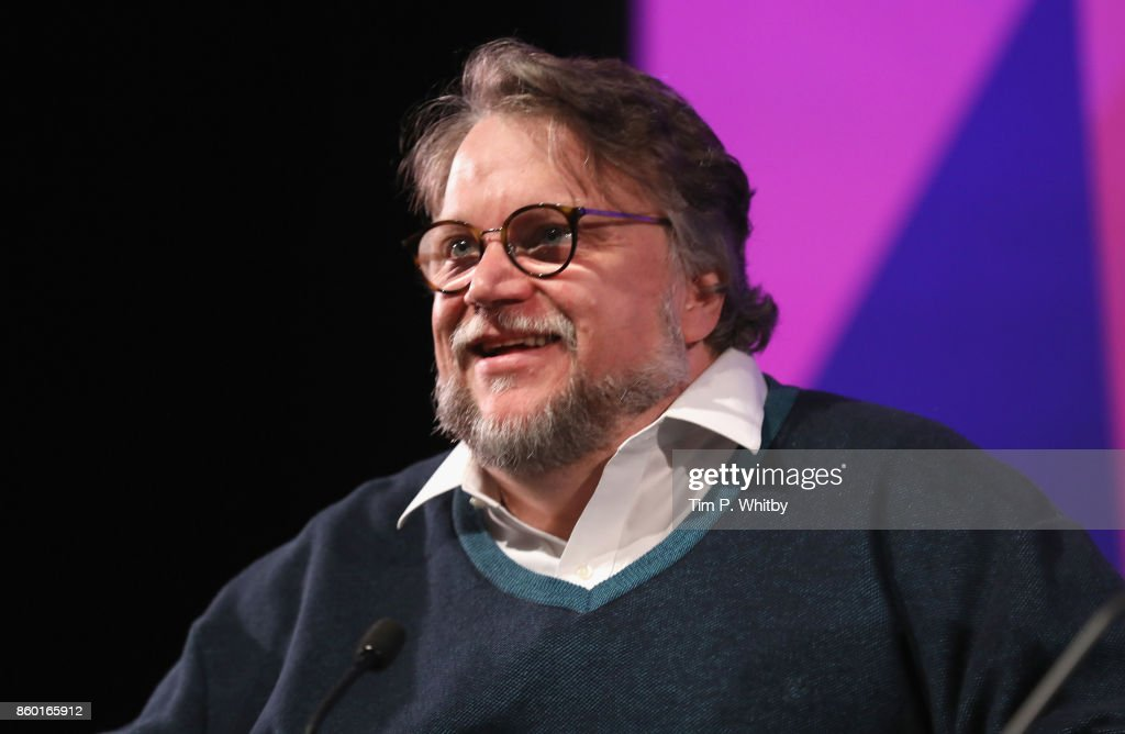 Director Guillermo Del Toro attends a Screen Talk during the 61st BFI London Film Festival on October 11, 2017 in London, England.