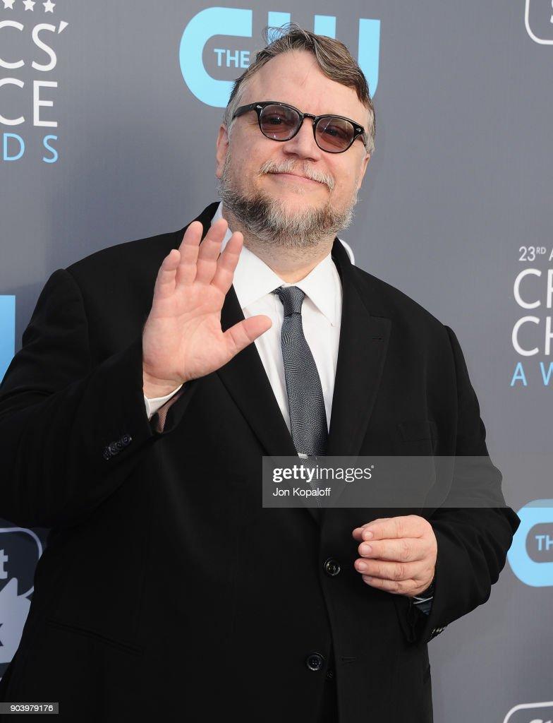 Director Guillermo del Toro attends The 23rd Annual Critics' Choice Awards at Barker Hangar on January 11, 2018 in Santa Monica, California.