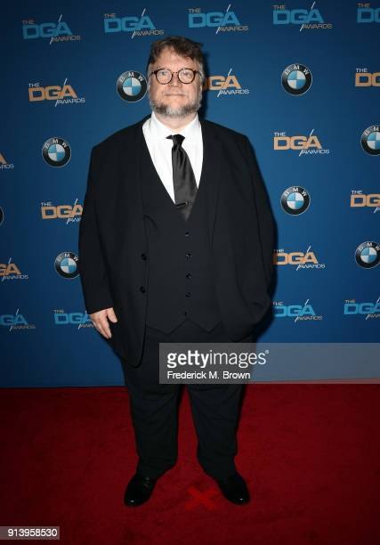 Director Guillermo del Toro attends the 70th Annual Directors Guild Of America Awards at The Beverly Hilton Hotel on February 3 2018 in Beverly Hills...