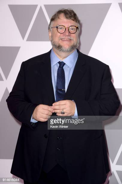 Director Guillermo del Toro attends the 90th Annual Academy Awards Nominee Luncheon at The Beverly Hilton Hotel on February 5 2018 in Beverly Hills...