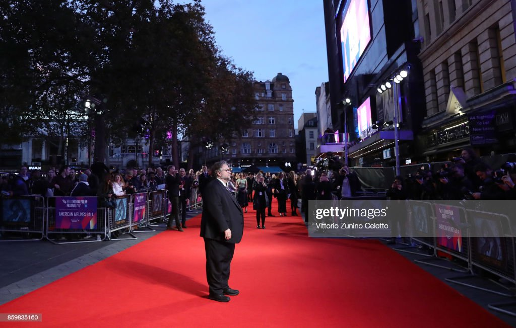 Director Guillermo del Toro attends the American Airlines Gala and UK Premiere of 'The Shape Of Water' during the 61st BFI London Film Festival on October 10, 2017 in London, England.