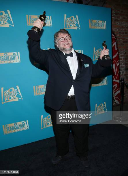Director Guillermo del Toro attends the Fox Searchlight And 20th Century Fox Oscars PostParty on March 4 2018 in Los Angeles California