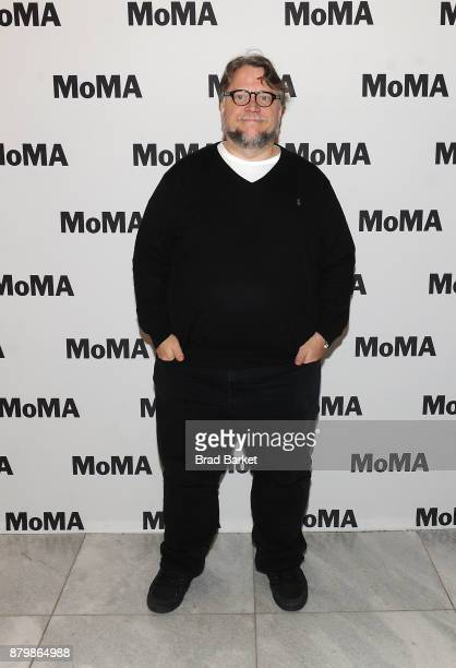 Director Guillermo del Toro attends the MoMA's Contenders Screening of 'The Shape of Water' at MOMA on November 26 2017 in New York City