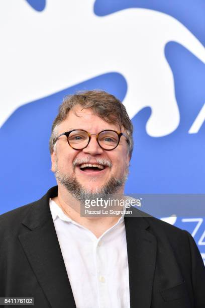 Director Guillermo del Toro attends the 'The Shape Of Water' photocall during the 74th Venice Film Festival on August 31 2017 in Venice Italy