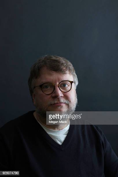 Director Guillermo del Toro is photographed for The Wrap on February 9 2018 in Los Angeles California