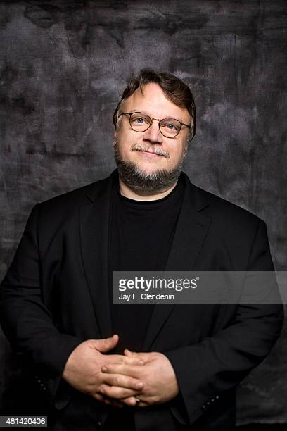 Director Guillermo del Toro of 'Crimson Peak' poses for a portrait at ComicCon International 2015 for Los Angeles Times on July 9 2015 in San Diego...