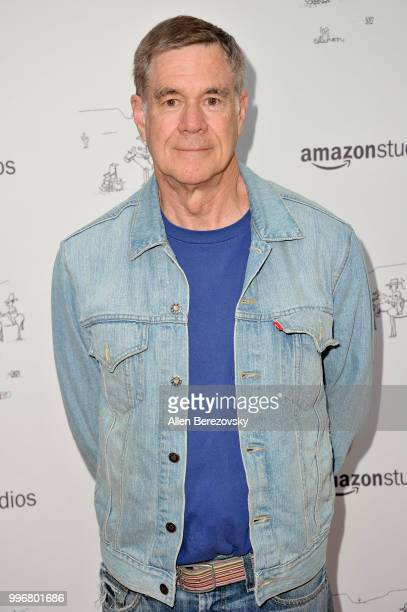 Director Gus Van Sant attends Amazon Studios Premiere of Don't Worry He Wont Get Far On Foot at ArcLight Hollywood on July 11 2018 in Hollywood...