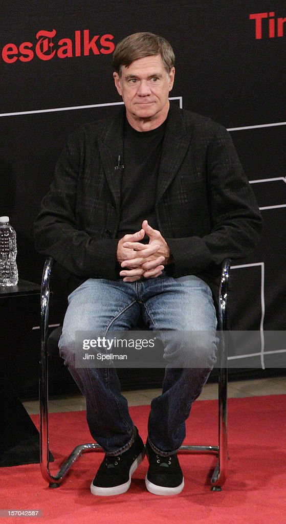 Director Gus Van Sant attends TimesTalk Presents An Evening With Marion Cotillard, Matt Damon & Gus Van Sant at TheTimesCenter on November 27, 2012 in New York City.