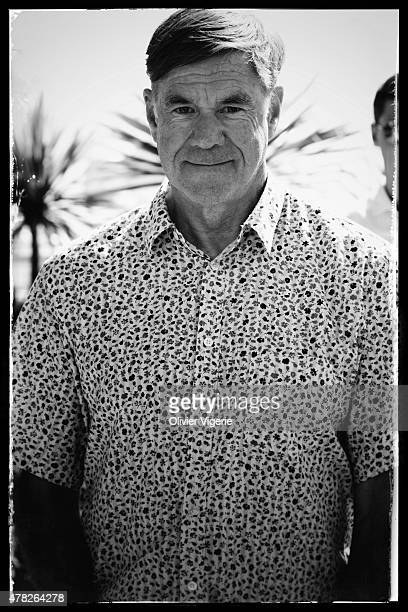 Director Gus Van Sant is photographed on May 15 2015 in Cannes France
