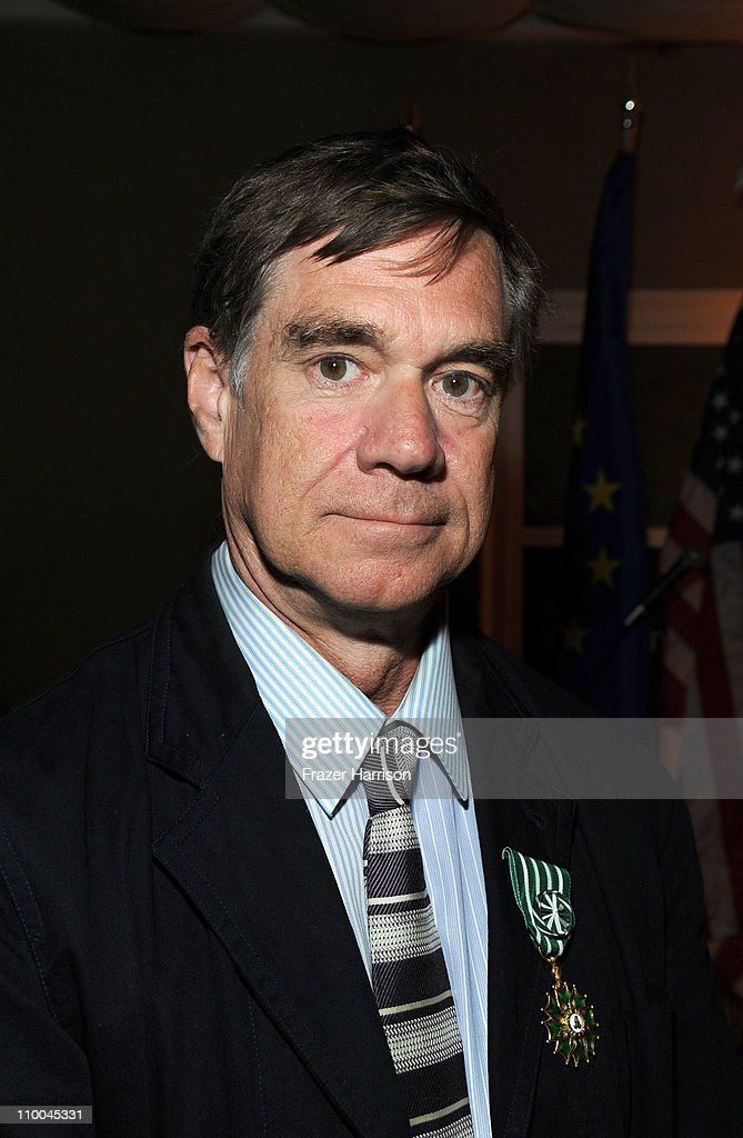 Director Gus Van Sant recipient of the commander in the Order des Arts and Letters attends the 'Reception Of France' Hosted By French Minister Of Culture Frederic Mitterrand honoring contributions to France on March 13, 2011 in Beverly Hills, California.