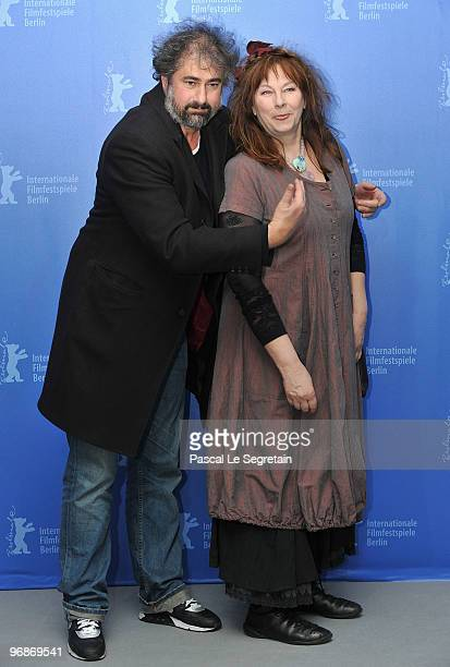 Director Gustave de Kervern and actress Yolande Moreau attend the 'Mammuth' Photocall during day nine of the 60th Berlin International Film Festival...