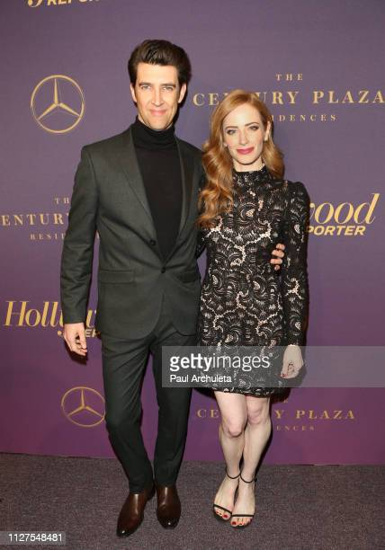Director Guy Nattiv and Actrress Jaime Ray Newman attend The Hollywood Reporter's 7th annual Nominees Night at CUT on February 04 2019 in Beverly...