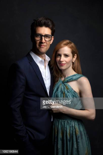 Director Guy Nattiv and wife/actress Jamie Ray Newman is photographed for Los Angeles Times on September 8 2018 in Toronto Ontario PUBLISHED IMAGE...