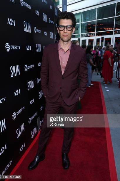 Director Guy Nattiv attends the LA Special Screening Of A24's 'Skin' at ArcLight Hollywood on July 11 2019 in Hollywood California