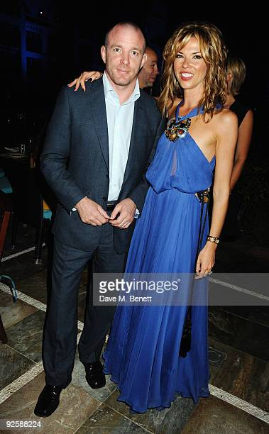 Director Guy Richie and Heather Kerzner attends the grand opening night of the Kerzner Mazagan Beach Resort on October 31 2009 in El Jadida Morocco...