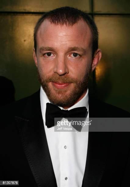 Director Guy Richie arrives at amfAR's Cinema Against AIDS 2008 benefit held at Le Moulin de Mougins during the 61st International Cannes Film...