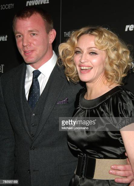 Director Guy Ritchie and musician Madonna attend 'Revolver' screening hosted by The Cinema Society and Piaget at Tribeca Grand Screening Room on...