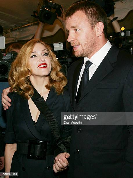 Director Guy Ritchie and wife Madonna attend theToronto International Film Festival gala premiere of Revolver at Roy Thomson Hall September 11 2005...