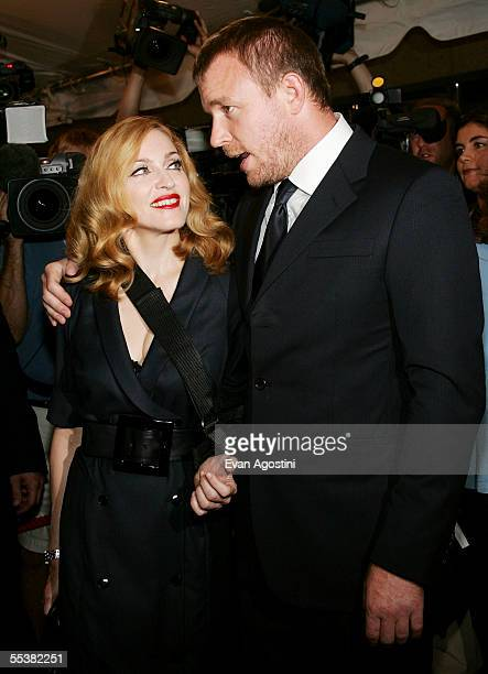 Director Guy Ritchie and wife singer Madonna attend theToronto International Film Festival gala premiere of 'Revolver' at Roy Thomson Hall September...