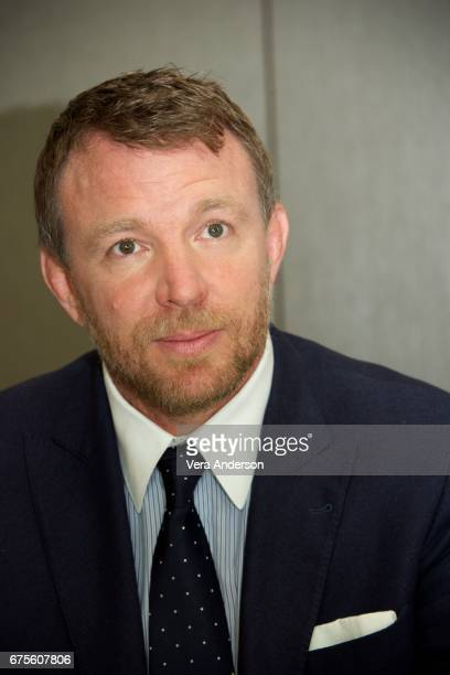 Director Guy Ritchie at the 'King Arthur Legend of the Sword' Press Conference at the Four Seasons Downtown Hotel on April 30 2017 in New York City