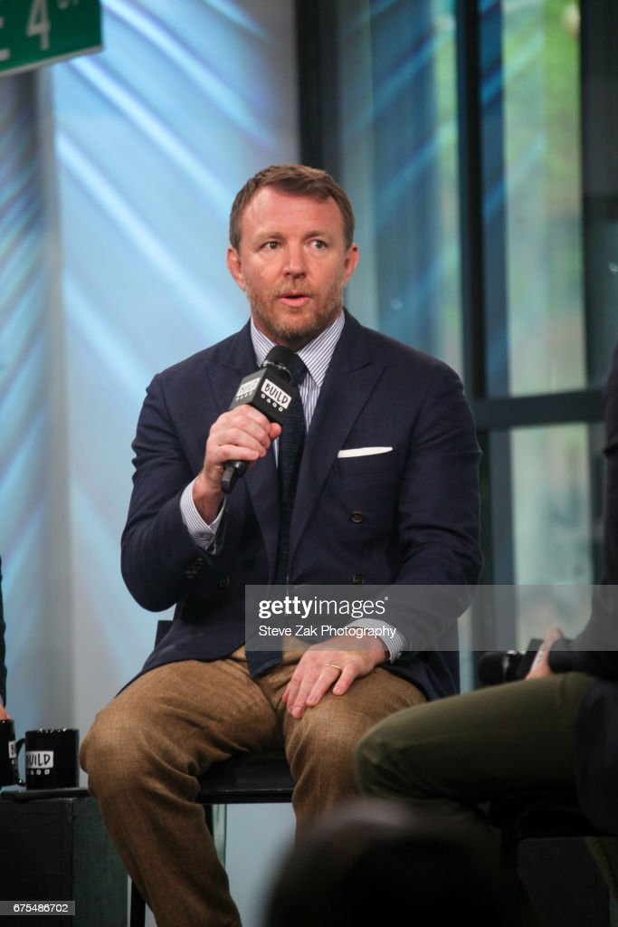 Director Guy Ritchie attends Build Series to discuss his new film 'King Arthur: Legend Of The Sword' at Build Studio on May 1, 2017 in New York City.