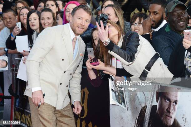 Director Guy Ritchie attends the European premiere of King Arthur Legend of the Sword at Cineworld Empire on May 10 2017 in London United Kingdom