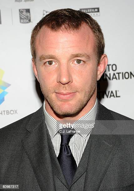 Director Guy Ritchie attends the RocknRolla premiere screening during the 2008 Toronto International Film Festival held at the The Visa Screening...