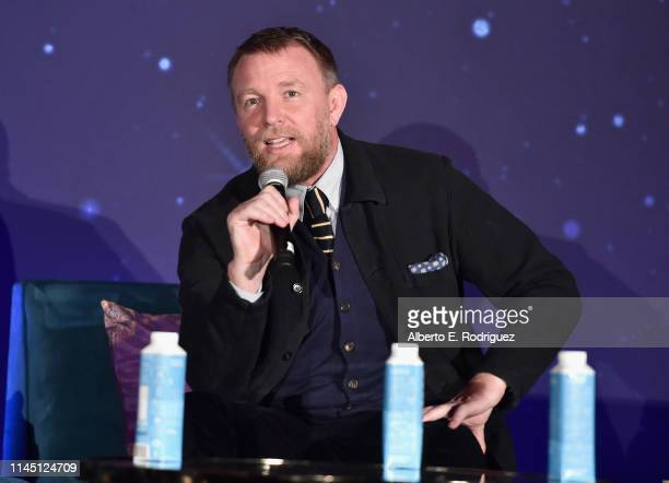 Director Guy Ritchie participates in the US press conference for Aladdin in Los Angeles CA on May 19 2019