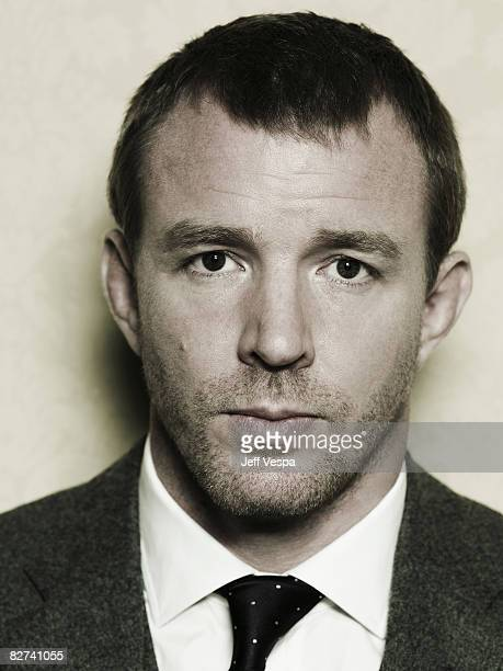 Director Guy Ritchie poses at a portrait session at the Toronto International Film Festival on September 4 2008